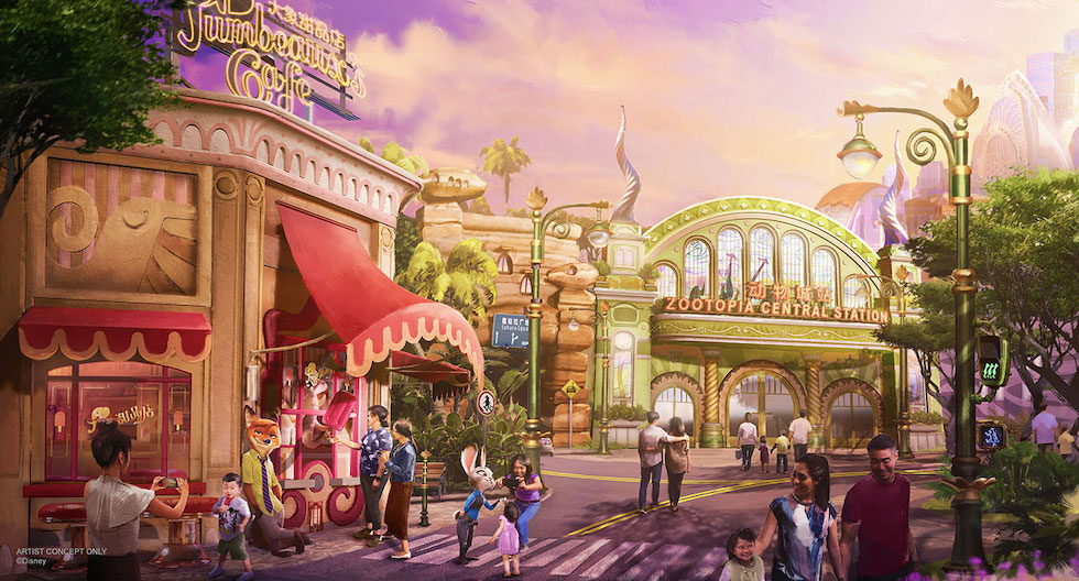 Image result for shanghai disney zootopia