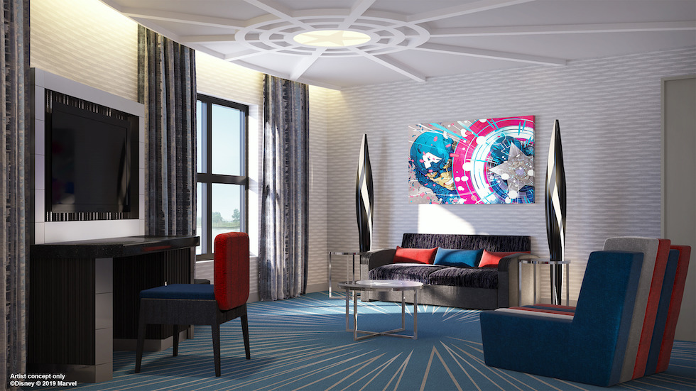 hotel new york the art of marvel