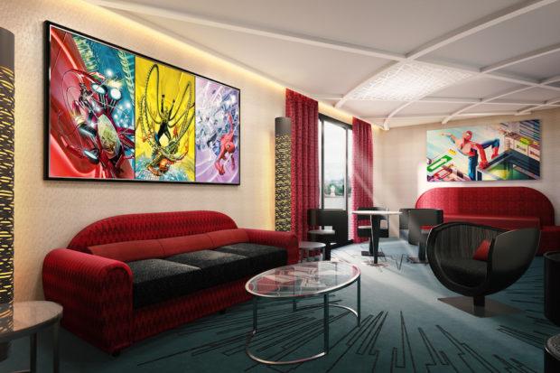 spider-man room