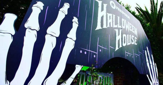 freeform's halloween house