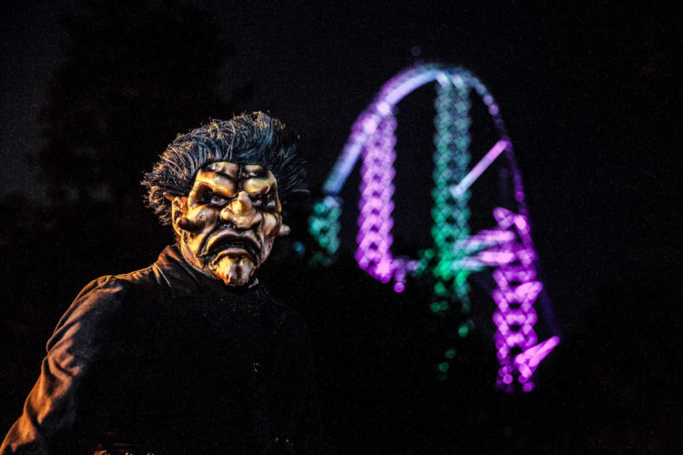 Cedar Point HalloWeekends 2019 zombie wedding