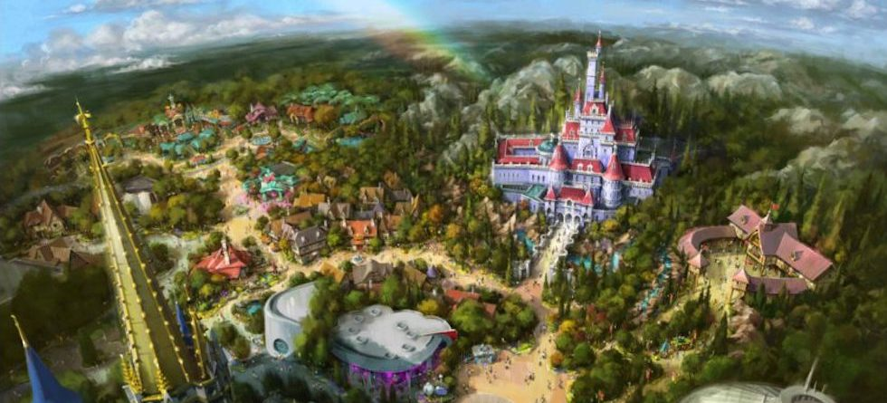 'Enchanted Tale of Beauty and the Beast' opening spring 2020 at Tokyo Disneyland