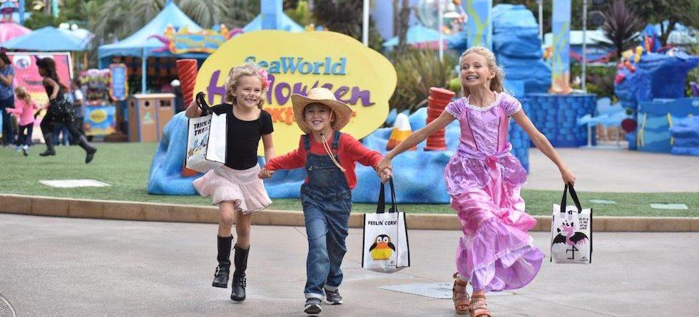 SeaWorld San Diego's Halloween Spooktacular offers not-too-spooky fun