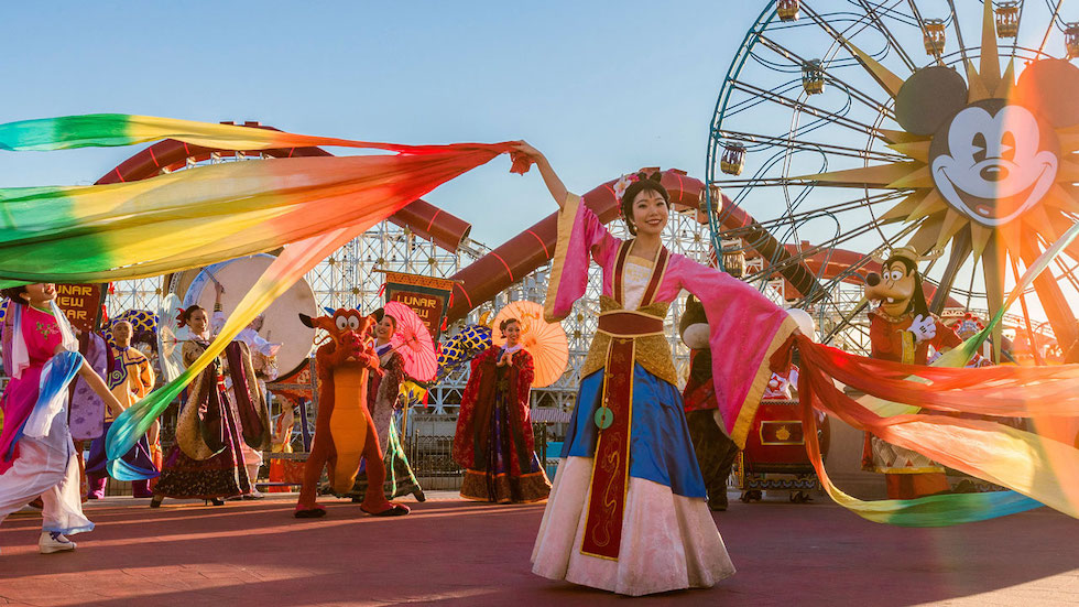Korean New Year 2020.Lunar New Year Disney California Adventure Food Wine