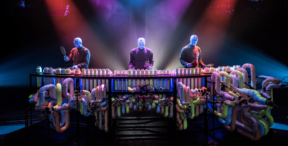 Blue Man Group Immerse 2019