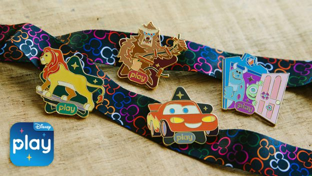 Play Disney Parks app trading pins