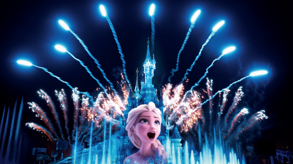 frozen celebration