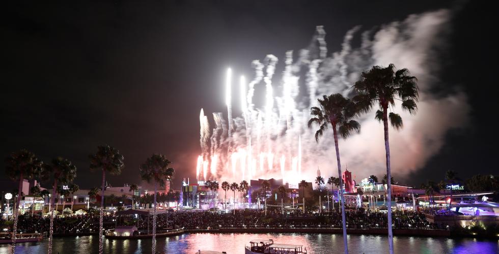 New Year's Eve Universal Orlando Citywalk