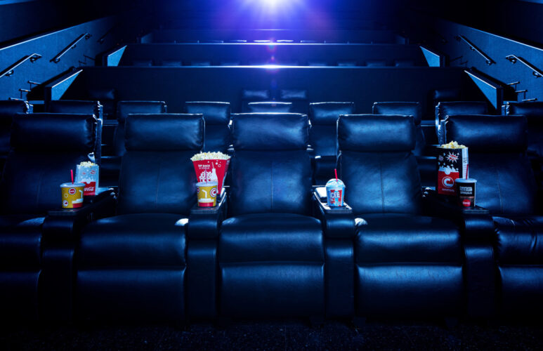 Universal Cinemark CityWalk Orlando upgraded Luxury Loungers