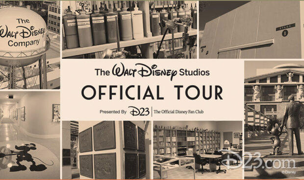 official walt disney studios tour