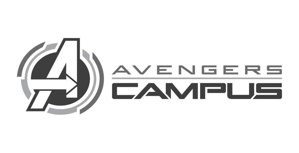 Avengers Campus summer 2020 logo