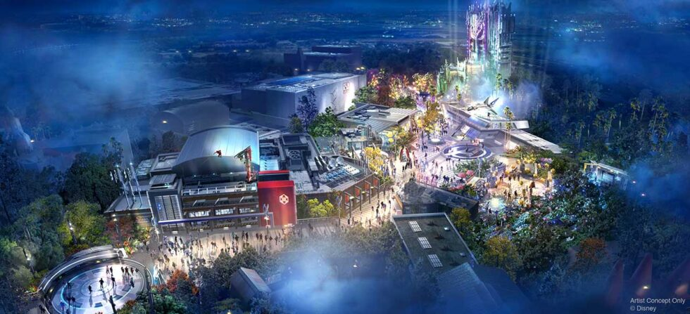 Marvel Avengers Campus opening summer 2020