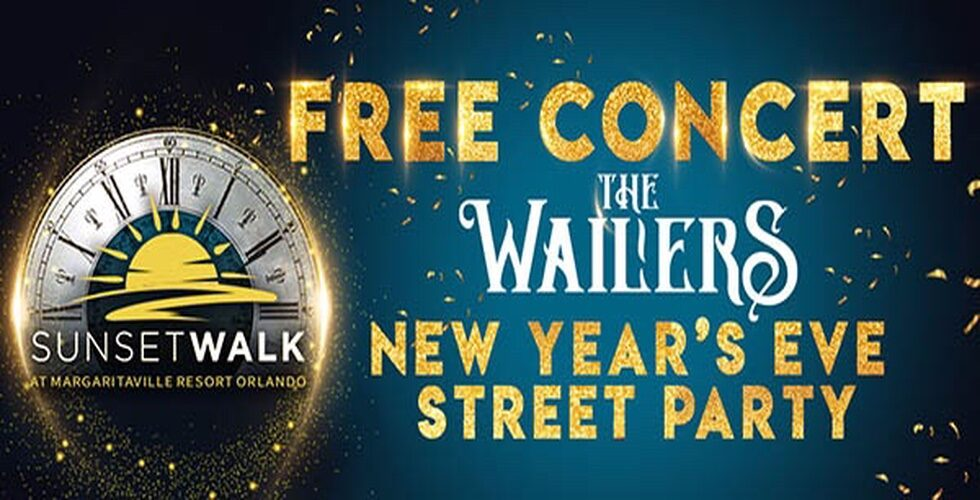 The Wailers Sunset Walk New Year's Eve concert