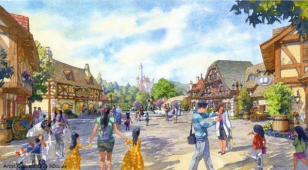 belle's village