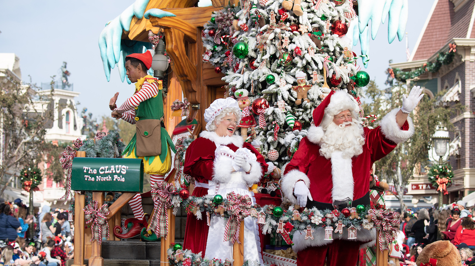 Whos Performing At The Disney Christmas Parade 2020 Disney Parks Magical Christmas Day Parade' airing Dec. 25 on ABC