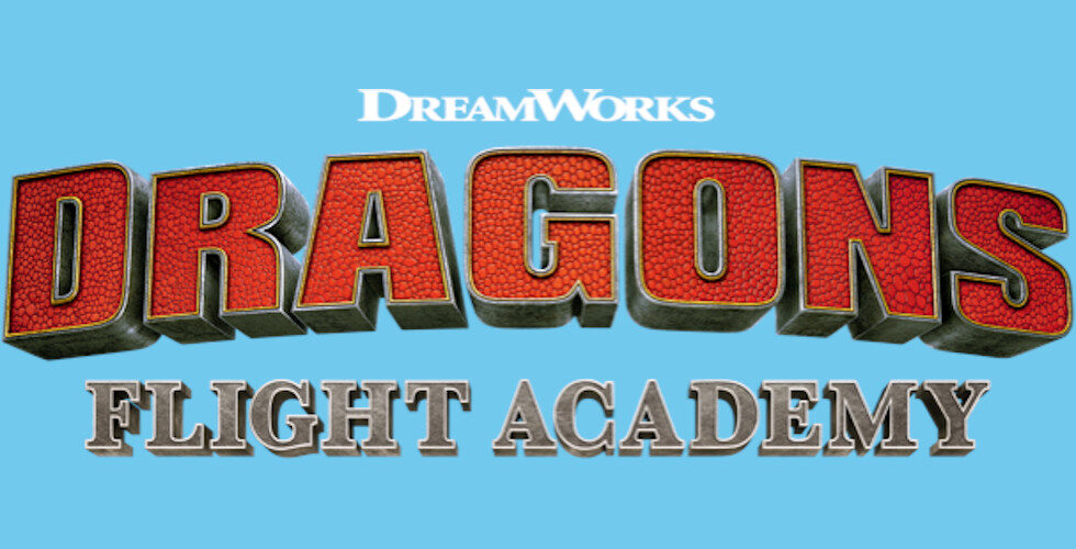 DreamWorks Dragons Flight Academy logo