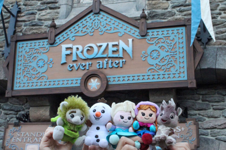 New 'Frozen Ever After' Disney Parks Wishables collection now available