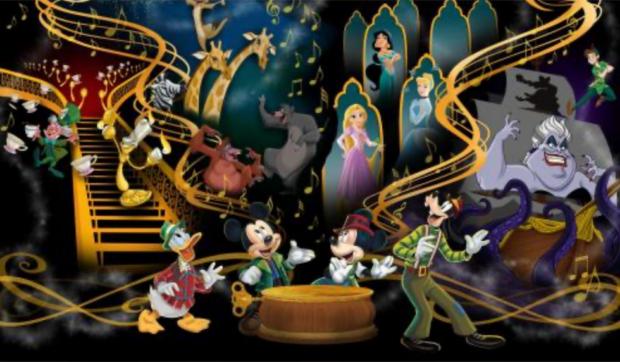 mickey's magical music world