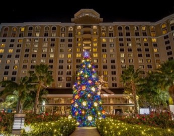Rosen Shingle Creek holidays Winter Wonderland Christmas tree