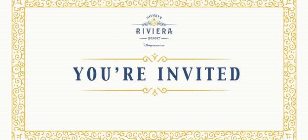 #DisneyParksLIVE to stream grand opening of Disney's Riviera Resort