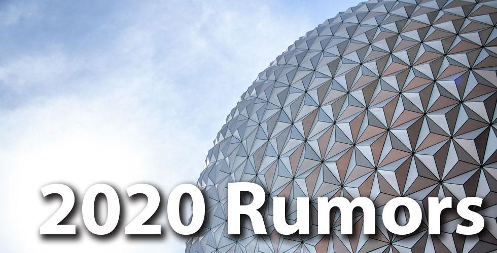 theme park rumors