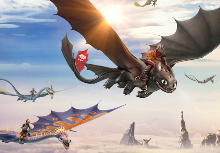 DreamWorks Dragons Flight Academy VR