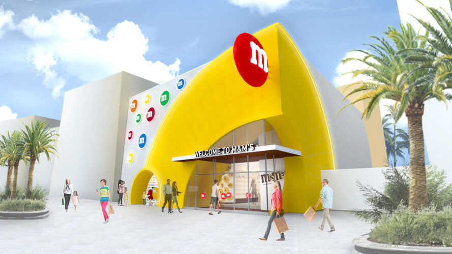 New concept art revealed for M&M's store coming to Disney Springs