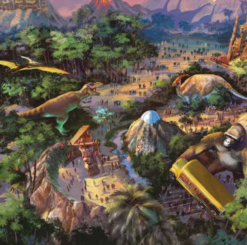 mowgli in dino land
