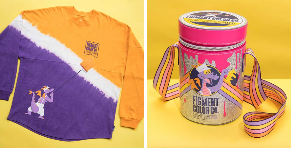 New Epcot Festival Of The Arts Merchandise Finds Inspiration With Figment