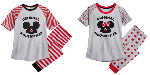 mouseketeer pajamas