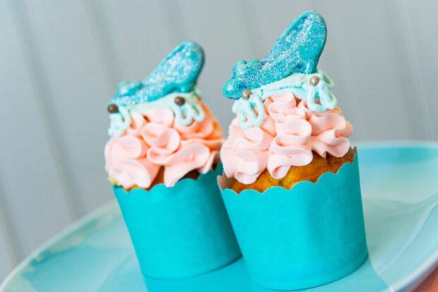 slipper cupcake