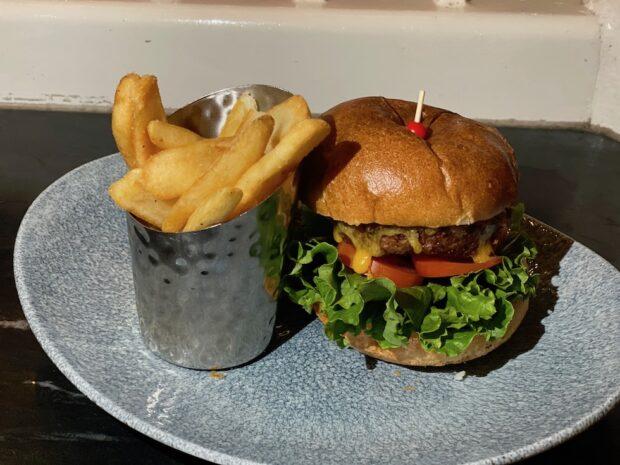 off-menu veggie burger