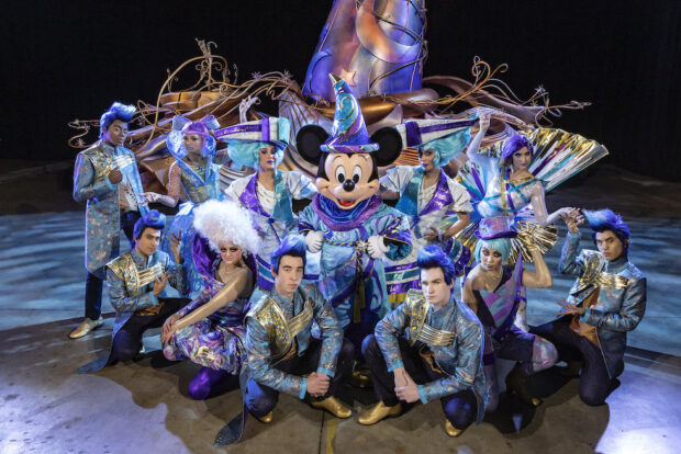 mickey and performers