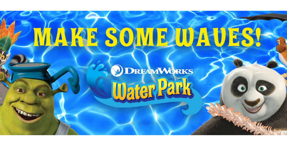 dreamworks animation water park