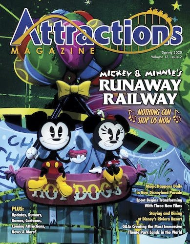 Attractions Magazine Spring cover