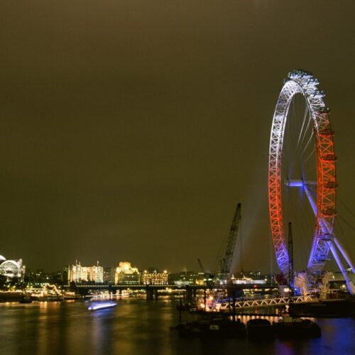 London Eye 20th birthday