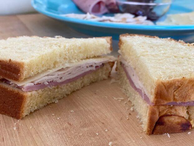 pre-batter sandwich