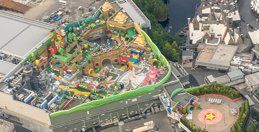 Photo Update Super Nintendo World In Japan Makes Incredible Progress