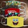 SpongeBob, Star Trek, other face masks being sold for charity