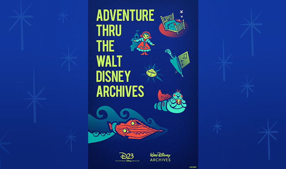 adventure thru the walt disney archives