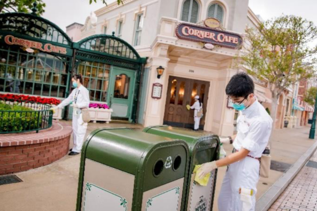 HKDL cleaning