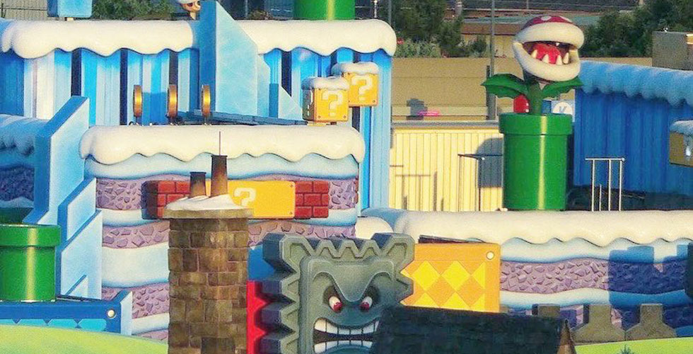 Photo Update Super Nintendo World In Japan Tests New Effects
