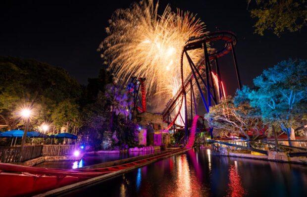 Busch Gardens Tampa Bay, Summer Nights, Fireworks