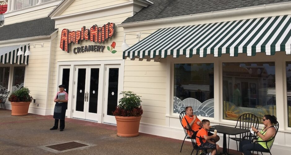 Ample Hills Creamery at Disney's Boardwalk