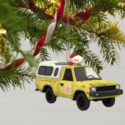 pizza planet truck ornament