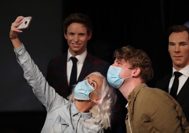 Merlin Entertainment, Madame Tussauds London, Eddie Redmayne, Benedict Cumberbatch