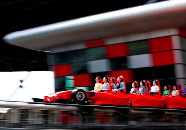 Formula Rossa launches at Ferrari World Abu Dhabi