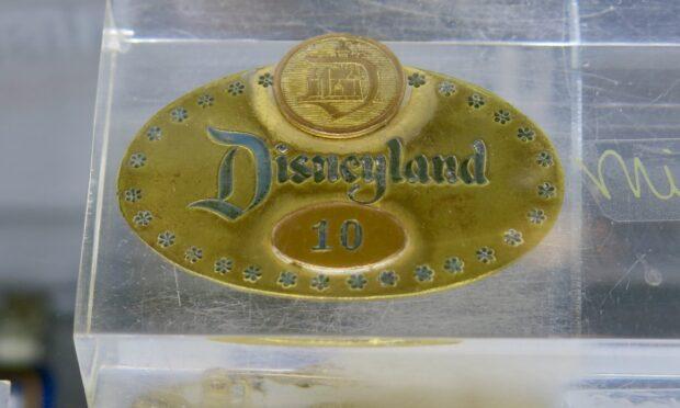 disneyland auction, disneyland 65th anniversary, cast member id, milt albright