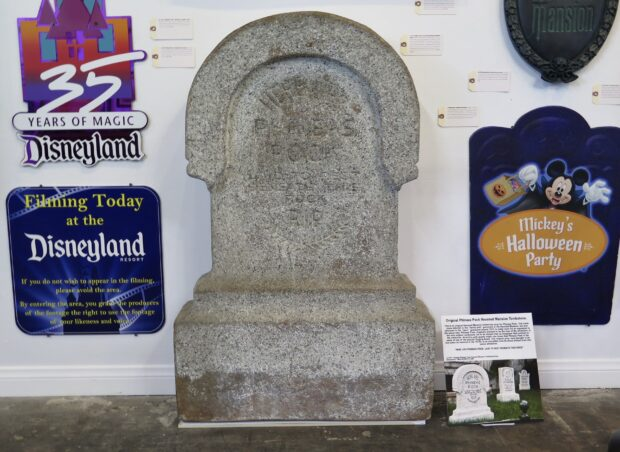 disneyland auction, disneyland 65th anniversary, haunted mansion