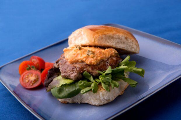 taste of seven seas, food festival, seaworld, lamb burger, slider
